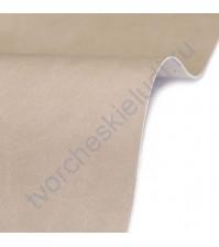 Кожзам переплетный на полиуретановой основе плотность 230 гр/м2, 50х35 см, цвет E476-св.бежевый