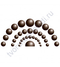 Жидкий жемчуг, цвет Шоколадный, 20 мл