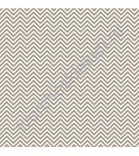 Ткань для рукоделия Мелкий шеврон на сером, 100% хлопок, размер 50х50 см