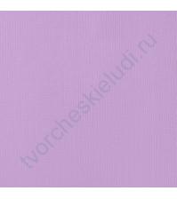 Кардсток текстурированный Лиловый (Lilac), 30.5х30.5 см, 216 гр/м2
