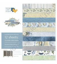 Набор бумаги Лучший день, 30.5х30.5 см, плотность 250 г/м2, 12 двусторонних листов (цена указана за 1/2 часть набора, 6 листов)