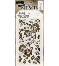 Трафарет Floral, 10.5х21.5 см