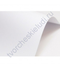 Дизайнерский картон без тиснения Prestige Bianco, плотность 350 г/м, 30х30см