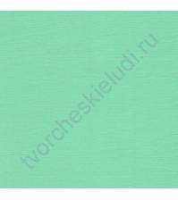 Кардсток текстурированный 30.5х30.5 см, плотность 216 гр/м, цвет Персидский зеленый