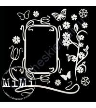 Чипборд Набор Подснежник, коллекция Весна, размер 10х15 см