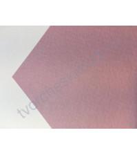 Кардсток текстурированный 30.5х30.5 см, цвет пыльно-розовый, плотность 250 гр/м2