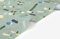 Ткань для рукоделия Kayak schooling fish, 100% хлопок, плотность 165 гр/м2, размер 45х55 см