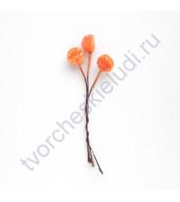 Букетик декоративный Дольки апельсина в сахаре, 3 штуки