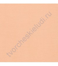 Кардсток текстурированный 30.5х30.5 см, плотность 216 гр/м, цвет Сочная дыня