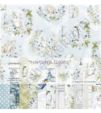Набор двусторонней бумаги Northern lights, 30.5х30.5 см, 190 гр/м, 11 листов