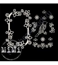 Набор чипборда Мотив, коллекция Ажур, размер 10х15см