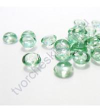 Капли дождевые Оттенок зелени, 4 мм, 25 штук