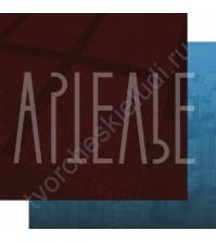 Бумага для скрапбукинга двусторонняя, коллекция ФОНОteka II, 30.5х30.5 см плотность 190г/м, лист Тени