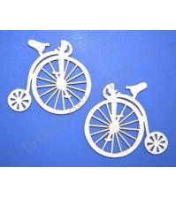 Чипборд Ретро велосипед, 2 элемента