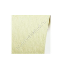 Кардсток текстурированный 30.5х30.5 см, цвет бледно-жёлтый, плотность 250 гр/м2