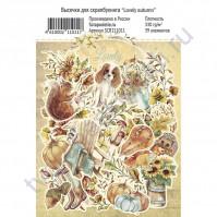 Набор высечек из коллекции Lovely autumn, плотность 330 г/м2, 39 элементов