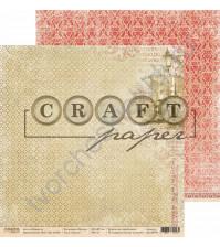 Бумага для скрапбукинга двусторонняя коллекция Шерлок, 30.5х30.5 см, 190 гр/м, лист Лондон