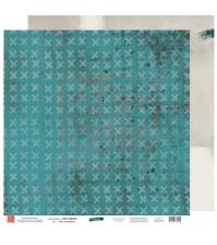 Бумага для скрапбукинга двусторонняя, 30.5х30.5 см, плотность 190 гр/м2, коллекция Вне рамок, лист Моя вселенная