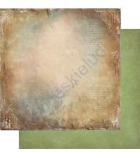 Бумага для скрапбукинга двусторонняя, коллекция Медовый пунш, лист 001