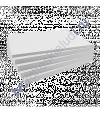 Картон немелованный двусторонний Пивной 25х25 см, толщ 1.55 мм