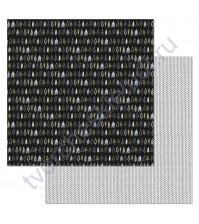 Бумага для скрапбукинга двусторонняя коллекция Фономикс.Сканди, 30.5х30.5 см, 180 гр/м, лист Елочки