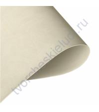 Кожзам переплетный на полиуретановой основе плотность 230 гр/м2, 35х50 см, цвет B919 серо-бежевый