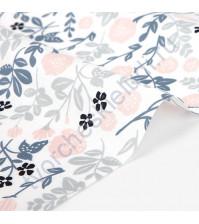 Ткань для рукоделия Humming scent, 100% хлопок, плотность 120 гр/м2, размер 45х55 см