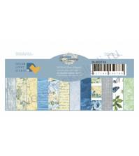 Набор бумаги Лучший день, 20.3х20.3 см, 250 гр/м, 12 двусторонних листов (цена указана за 1/2 часть набора, 6 листов)