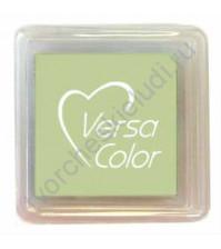 Подушечка чернильная пигментная VersaColor, 2,5х2,5 см, цвет шалфей
