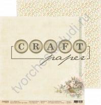 Бумага для скрапбукинга двусторонняя коллекция Пасха, 30.5х30.5 см, 190 гр/м, лист Кролики