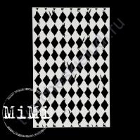Чипборд Набор Винтажные ромбы, коллекция Фоны, 10х15 см