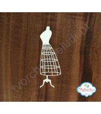 Чипборд Манекен-юбка, высота 15 см