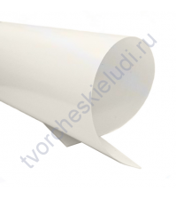 Термотрансферная пленка, цвет белый, матовый 25х25 см (+/- 1 см)