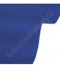 Кожзам переплетный на полиуретановой основе плотность 230 гр/м2, 50х70 см, цвет 4890-индиго