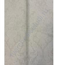 Ткань для рукоделия 50х100см, 100% хлопок, цвет белый орнамент