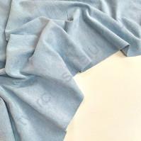 Искусственная замша двусторонняя, плотность 260 г/м2, размер 50х35 см (+/- 2см), цвет детский голубой