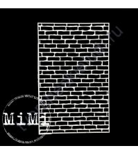 Чипборд Набор Стена, коллекция Фоны, 10х15 см