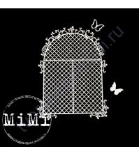 Набор чипборда Окно малое, коллекция Резная, размер 7.5х10см
