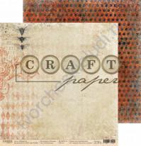 Бумага для скрапбукинга двусторонняя коллекция Алхимия, 30.5х30.5 см, 190 гр/м, лист Насекомые