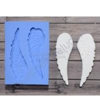 Форма силиконовая (молд) для полимерной глины, Крылья большие