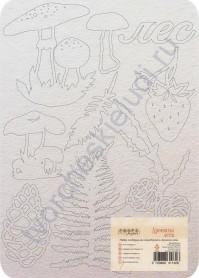 Набор чипборда коллекция Ароматы леса, 9 элементов