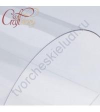 Лист пластика толщ. 0.5 мм, размер А4, цвет прозрачный