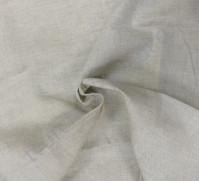 Ткань для рукоделия 50х35см, 100% лен, цвет натуральный