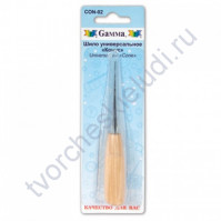 Шило универсальное с деревянной ручкой Конус, 6.2 см