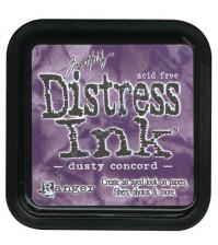 Штемпельная подушечка Tim Holtz Distress на водной основе, 5х5 см, цвет пыльный сиреневый (dosty concord)