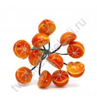 Букетик декоративный Апельсин половинками, 12 шт