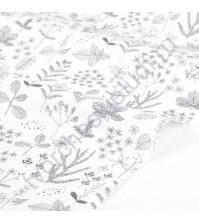 Ткань для рукоделия Nature leaf, 100% хлопок, плотность 120 гр/м2, размер 45х55 см