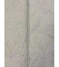 Ткань для рукоделия 50х50 см, 100% хлопок, цвет белый орнамент