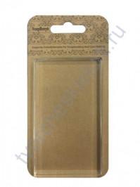 Акриловый блок для прозрачных штампов 57х102х10 мм