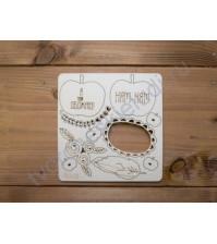 Набор картонного чипборда Мечты о детстве, в наборе 10 элементов, толщина 1,15 мм